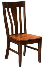 Amish Batavia Side Dining Chair - Quick Ship