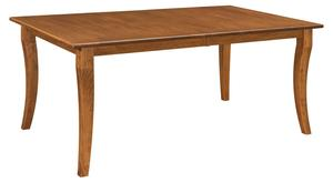"Amish Fenmore 42"" x 72"" Leg Dining Table - Quick Ship"
