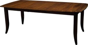 "Amish Christy 66"" Extension Dining Table - Quick Ship"
