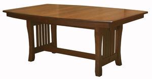Amish Berkley Trestle Dining Table - Quick Ship