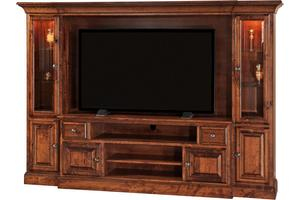 Amish Kincade Wall Unit - Quick Ship