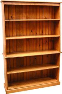 Amish Pine Wood Bookcase