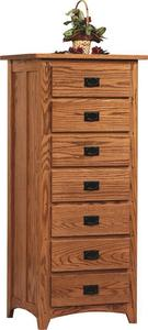 Amish Mission Deluxe Lingerie Chest