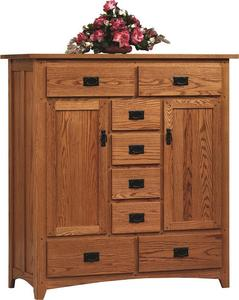 Amish Mission Deluxe Sweater Chest of Drawers