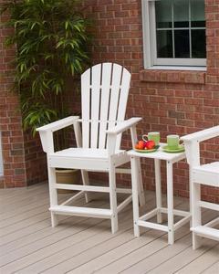 POLYWOOD® South Beach Counter Chair