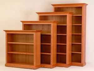 "Amish 48"" Wide Executive Bookcase"