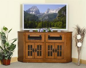 Amish Mount Hope Mission Corner TV Stand