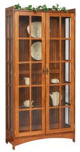 Amish Fancy Mission Curio Cabinet