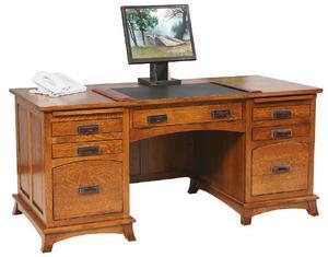 Amish Mt. Eaton Executive Desk