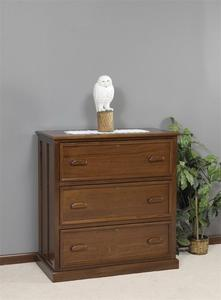 Amish Solid Wood Lateral File Cabinet