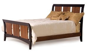 Amish Contempo Modern Bed