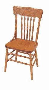 Dutch Lily Press Back Dining Chair by Keystone Collection