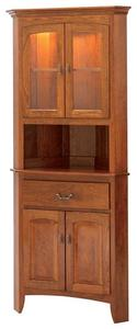 """Manchester 25"""" Corner Hutch by Keystone Collection"""