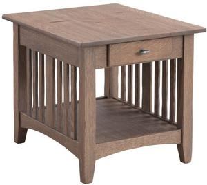 Mission End Table by Keystone