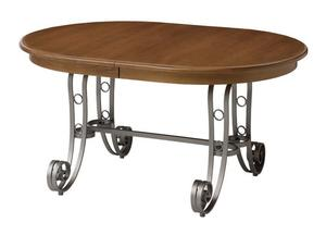 Ironwood Double Pedestal Dining Table by Keystone