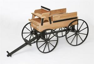 Handcrafted Hitch Amish Wagon