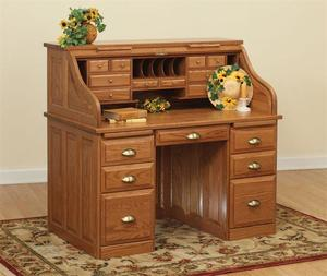 Amish Executive Roll Top Desk 50""