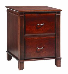 Amish Arlington Executive 2 Drawer File Cabinet