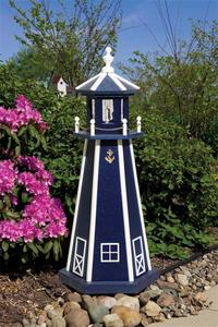 Amish-Made Standard Poly Yard Lighthouse