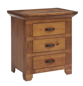 "Amish Redmond Wellington 28"" Night Stand"