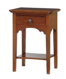 Amish Early American Open Night Stand