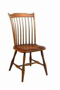 Amish Holliston Thumbback Windsor Chair