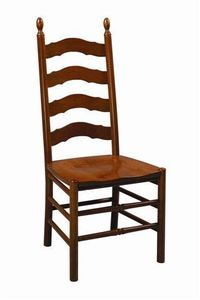 Amish Abilene Ladderback Dining Room Chair