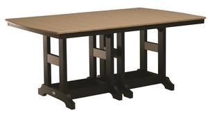 """Berlin Gardens 44"""" x 72"""" Poly Dining Table"""