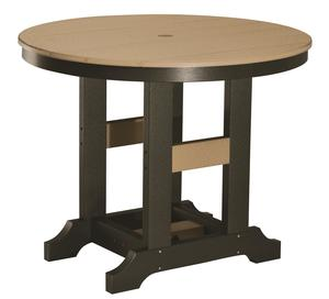"""Berlin Gardens 38"""" Round Classic Dining Poly Patio Table"""