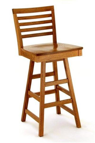 Amish Bellagio Bar Stool with Swivel
