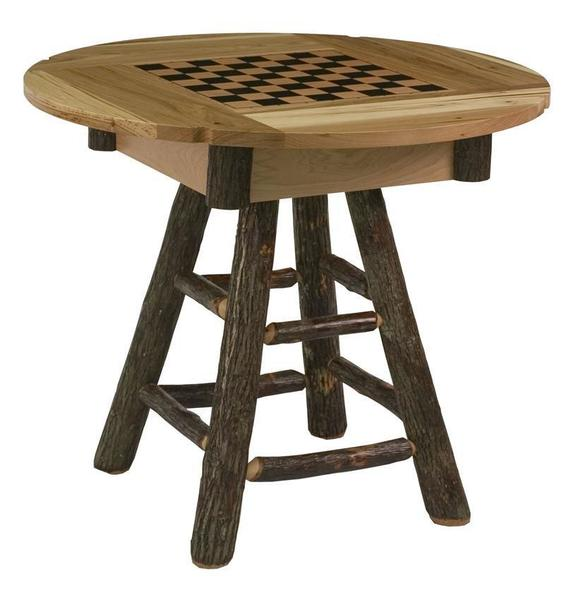 Amish Country Delight Hickory Game Table