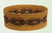 Amish Eco Friendly Lazy Susan Basket
