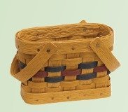 Amish Poly Napkin Basket