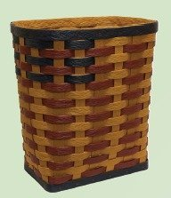 Amish Eco Friendly Rectangle Laundry Hamper