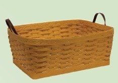 Amish Small Clothes Basket