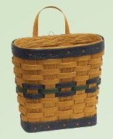 Amish Small Mail Basket