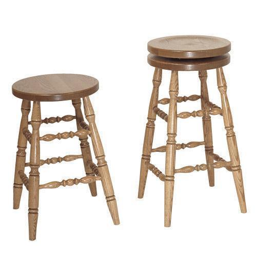 Astounding Amish Fancy Turned Leg Bar Stool Caraccident5 Cool Chair Designs And Ideas Caraccident5Info