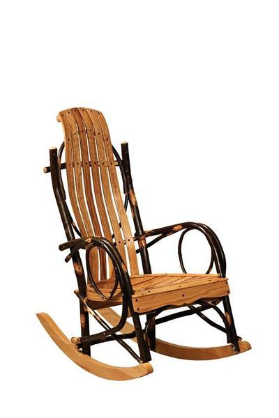 Amish Hickory Youth Rustic Rocker