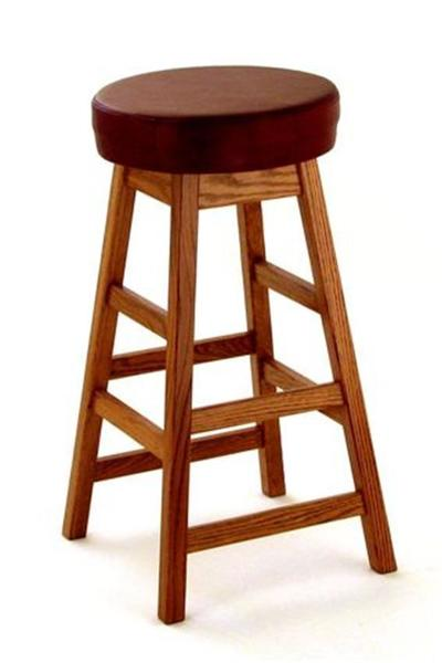 Amish Ohio Backless Barstool