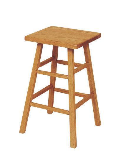 Amish Square Leg Bar Stool