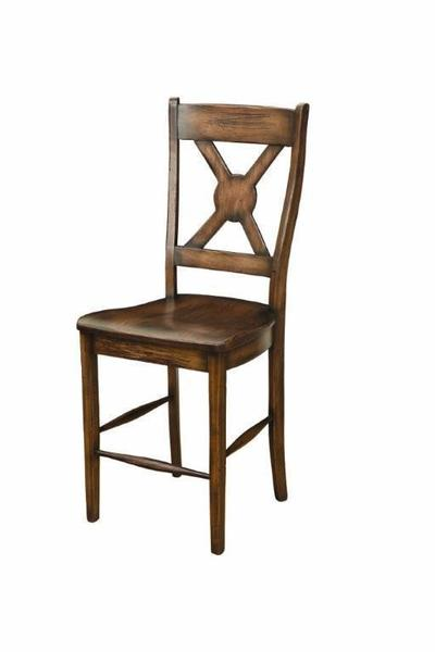 Amish White River Barstool