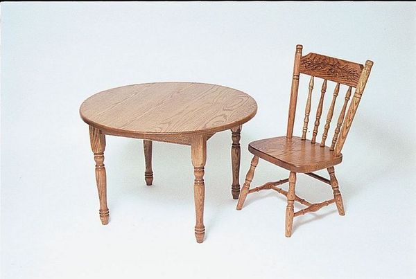 Amish-Made Kids' Activity Table and Chairs