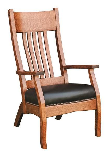 Amish Captain Mission Lounge Chair