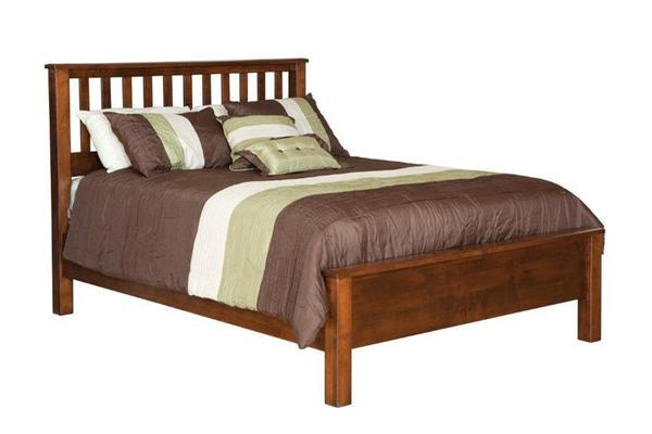Amish Made Mission Bed