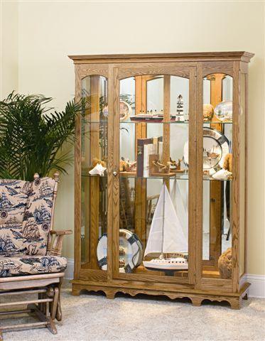 Amish Grande Curio Cabinet