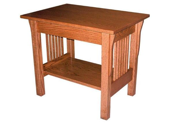 Amish Prairie Mission Large End Table