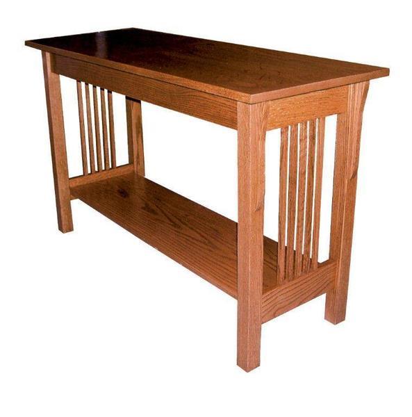 Amish Prairie Mission Sofa Table