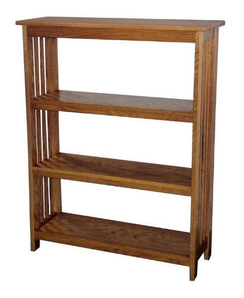Amish Office Furniture Mission Bookcase Choose from Four Sizes