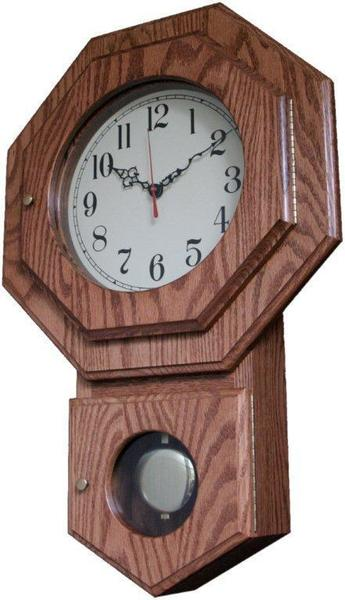 Amish Made Schoolhouse Style Wall Clock
