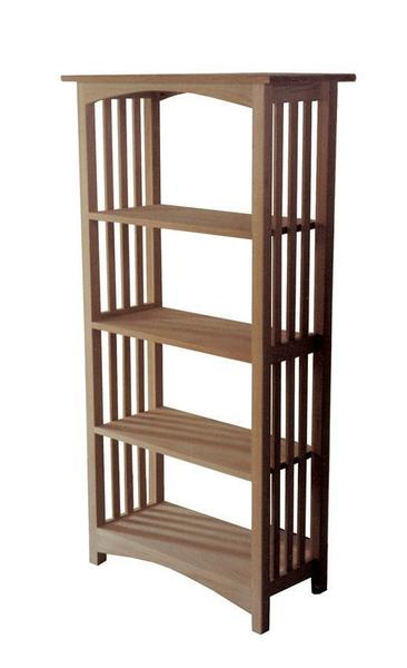 Amish Solid Wood Ohio Mission Bookcase